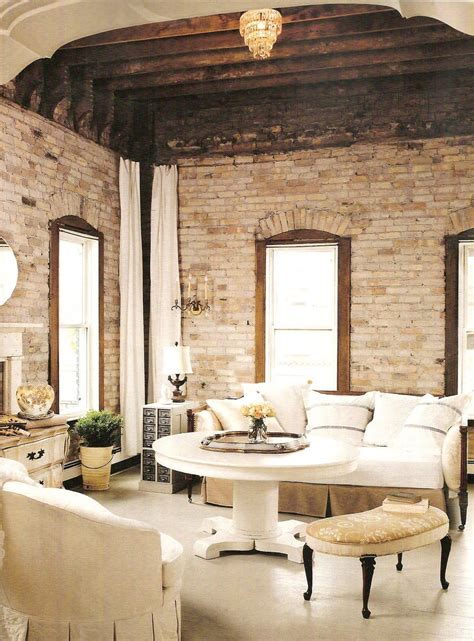 Exposed Brick White Create Stunning Decor by Shades Of White With Brick Stunning Bath Wall