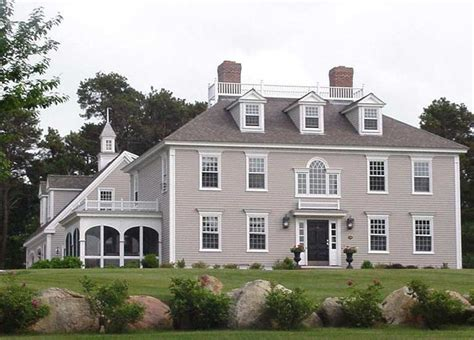 brewster federal house classic colonial homes