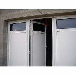 Porte De Garage 3 Vantaux : porte de garage aluminium battant 3 vantaux blanc standard 2400 x 2000 mm ~ Dode.kayakingforconservation.com Idées de Décoration