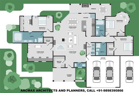 Villa Home Plans by Home Plans And Residence Plans Arcmax Architects