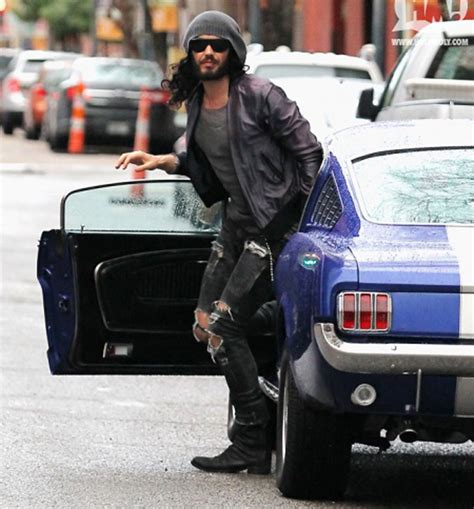 russell brand car top 10 comedian cars