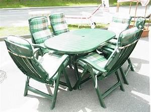 Gartenmöbel Set 6 Stühle : steiner gartenm bel set gr n 6 st hle tisch garten terasse st hle gartenstuhl ebay ~ Bigdaddyawards.com Haus und Dekorationen
