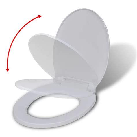 siege de wc abattant wc à fermeture en douceur siège de toilette blanc