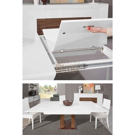 table salle a manger carree extensible pin comptoir de prestige on