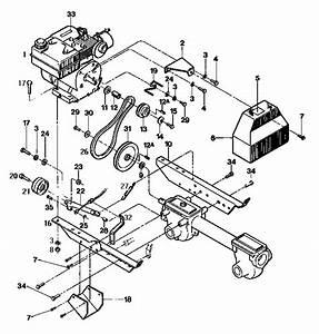Troy Bilt Tiller Carburetor Diagram