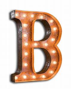 Best of vintage marquee letters vintage industrial style for Antique marquee letters