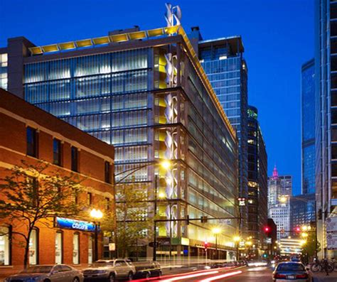 best parking chicago chicago parking garage harvests energy from windy city