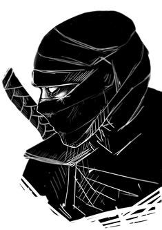 ninja sketch | Ninja sketch commission by
