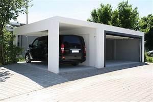 Garage Mit Carport : stahlbeton fertiggarage alwe garagen ~ Orissabook.com Haus und Dekorationen