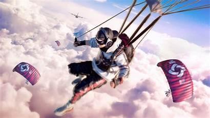 Parachute Pubg 4k Mocah Backgrounds Wallpapers Phone