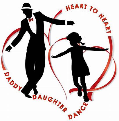 Daughter Heart Father Daddy Clipart Dancing Dance