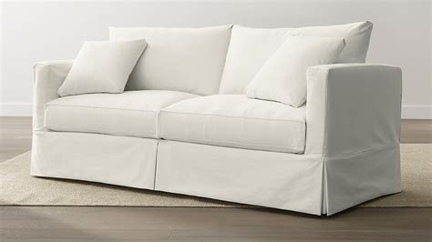 Willow Loveseat by Slipcover Only For Willow Sofa Deso Snow Crate And Barrel