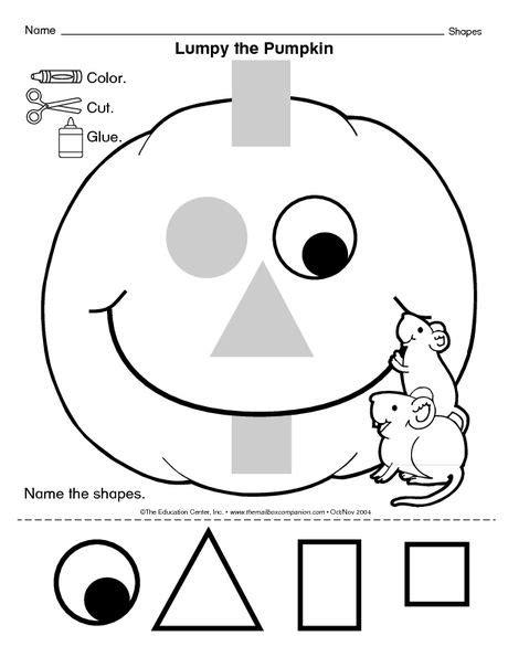 lumpy the pumpkin the mailbox fall fall preschool 190 | a6b99aa02ca09593b13d47b4e65e19e4
