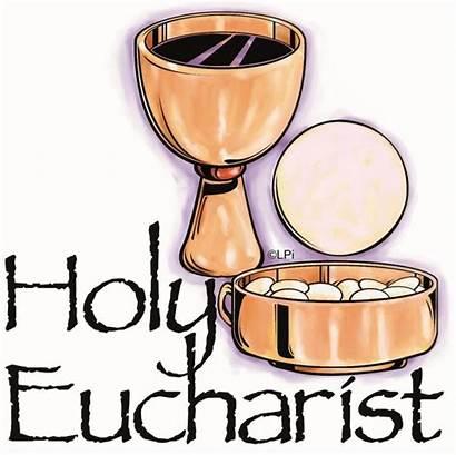 Eucharist Holy Clipart Mass Rolls St Catholic