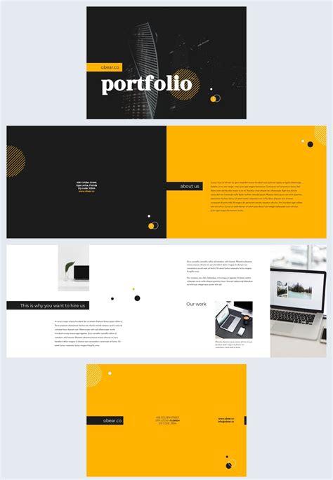 elegant business portfolio template flipsnack