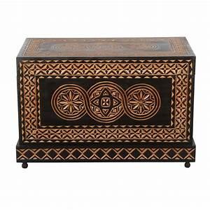 Truhe Aus Holz : orientalische truhe aus holz sahara bei ihrem orient ~ Watch28wear.com Haus und Dekorationen