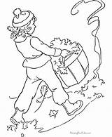 Coloring Pages Leaves Raking Rake Anime Leaf Jaguar Kid Aladin Raisingourkids Tree Colorings Customize Template Sheet Popular Hdimagelib Credit Larger sketch template