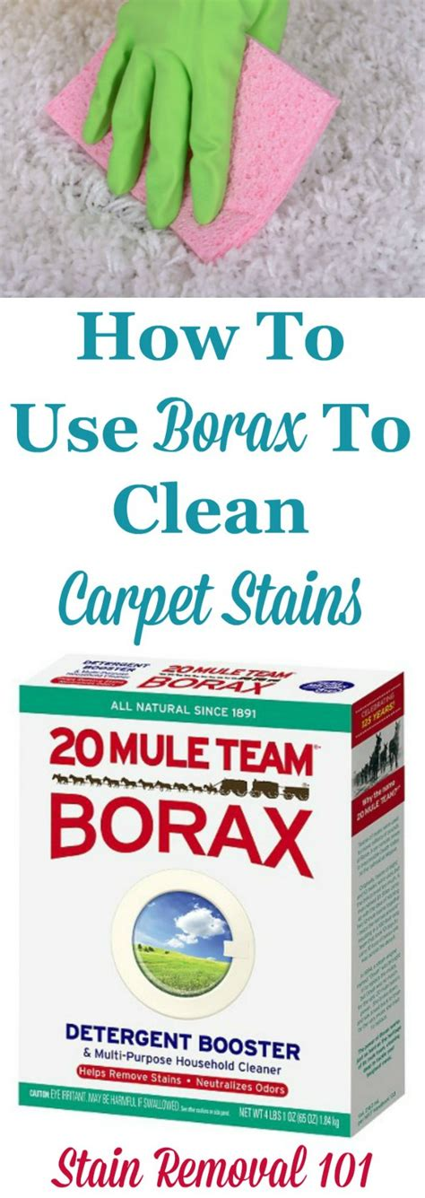 how to clean carpets use borax to clean carpet and remove carpet stains