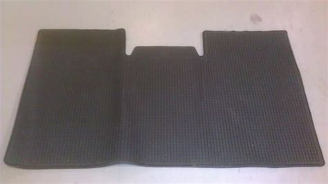 rear floor mats genuine ford oem f 150 f150 rubber rear floor mat 9l3j