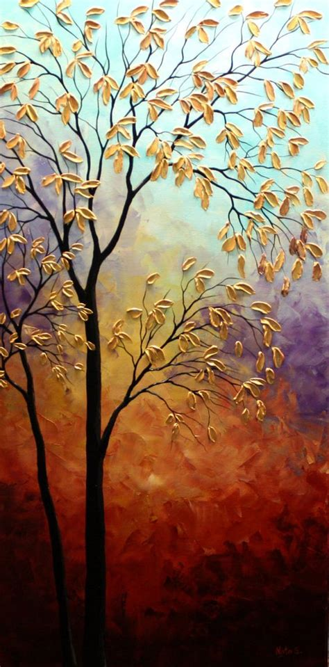 abstract tree paintings art httplometscom