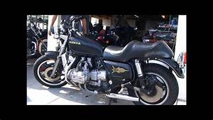 1980 Goldwing Gl1100 With Cored Sportster Exhaust Cans