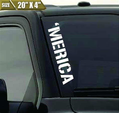Details About 'merica Windshield Banner Vinyl Decal. Mario Bros Stickers. Hoco Logo. Half Helmet Decals. Rivo Banners. Panzer Iii Decals. Print Custom Stickers Online. Strawberry Lettering. Wedding Head Table Banners