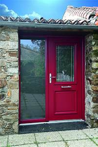 portes d39entree traditionnelles komilfo With porte d entrée rouge