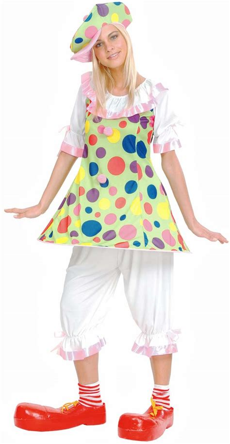 d 233 guisement clown rigolo carnaval femme