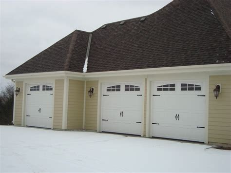 lifetime door company carriage house style garage doors craftsman shed