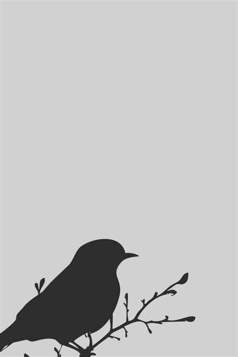 minimalist iphone wallpapers cool bird