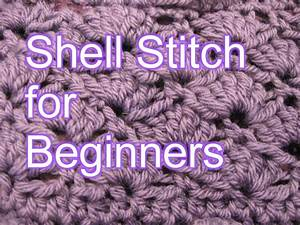 [Video Tutorial] Learn A New Stitch: Crochet Shell Stitch ...
