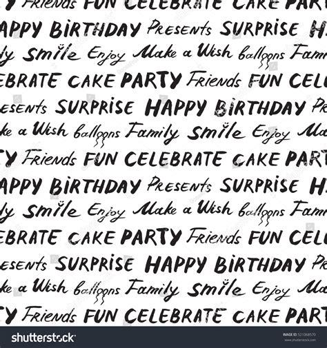 happy birthday pattern stock vector 521068570 happy birthday pattern stock vector 521068570