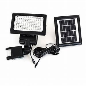 Led Beleuchtung Batterie : bewegungsmelder mit led flutlicht solar f r au en 49 90 e ~ Watch28wear.com Haus und Dekorationen