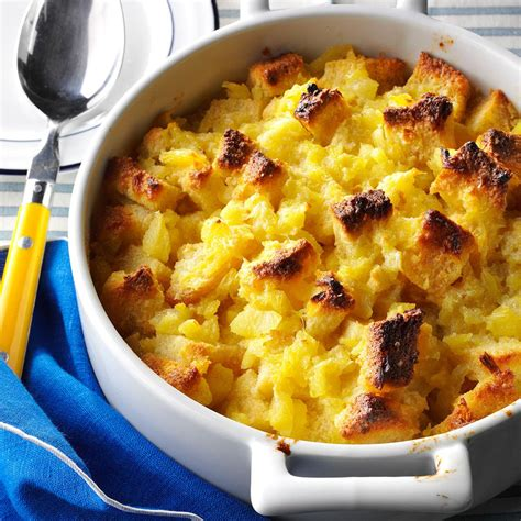 and recipe scalloped pineapple casserole recipe taste of home