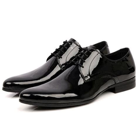 mens black patent leather shoes mens tuxedo shoes