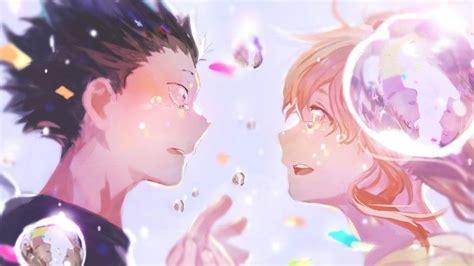 silent voice anime ishida  nishimiya wallpaper
