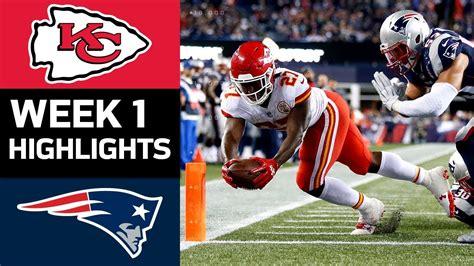 Chiefs vs. Patriots | NFL Week 1 Game Highlights ...