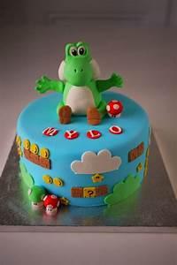 Super Mario Kuchen : yoshi cake by kikikaikai on cake central boy cakes pinterest cake central cakes and galleries ~ Frokenaadalensverden.com Haus und Dekorationen