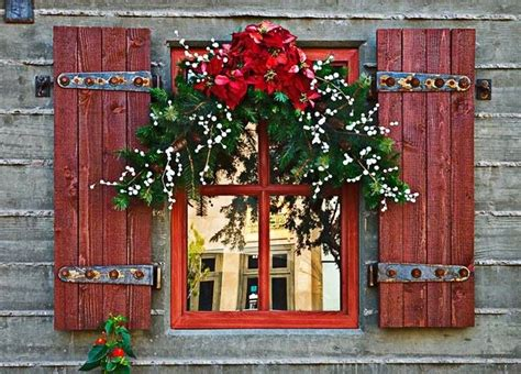 red shutters and christmas christmas pinterest red