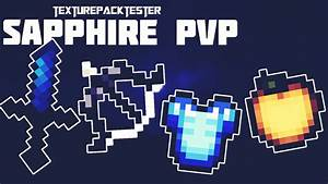 SAPPHIRE BLUE 16x FPS PVP TEXTURE PACK IOS ANDROID