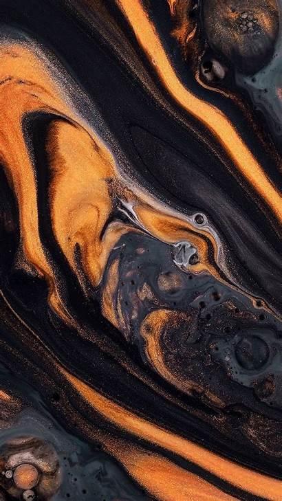 Marble Phone Aesthetic Orange Halloween Wallpapers Iphone
