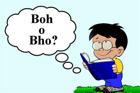 Si Scrive Boh, Bho O Bo?