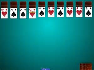 2 suit spider solitaire main window solitaire 2 suit