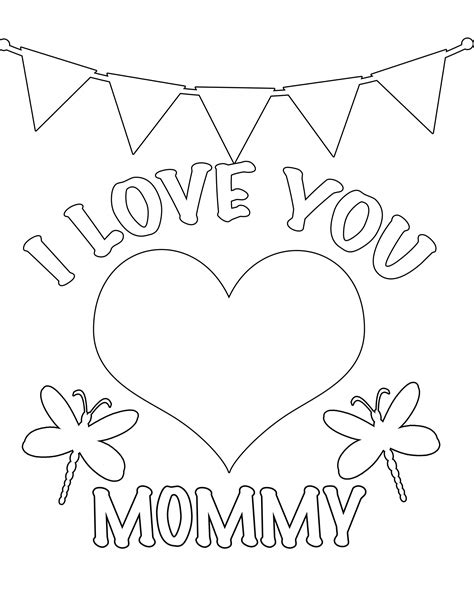 valentines day coloring pages  preschool projects