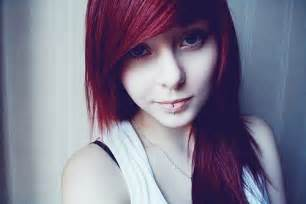 Pretty Girl with Red Hair Tumblr
