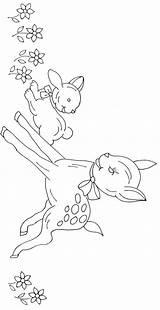 Embroidery Bambi Ricamare Disegni Patterns Disney Disegno Broderie Motif Gratuit Magiedifilo Juvenile Bordado Ricamo Animali Pattern Jamboree Stitch Cross Punto sketch template