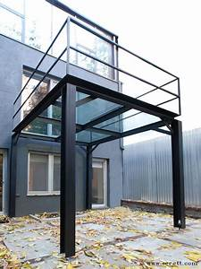 steel and glass balcony the deck and veranda pinterest With wonderful idee deco jardin terrasse 9 deco new york maison du monde