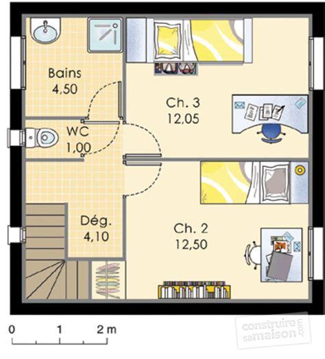 plan maison 3 chambres etage plan de maison 3 chambres plan de maison plainpied