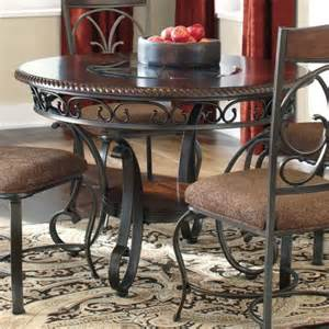 signature design by ashley glambrey round dining table