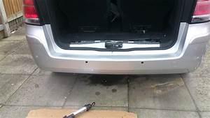 Vauxhall Zafira Parking Sensors Location